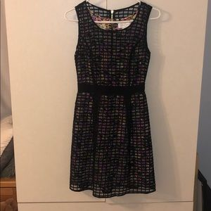 Jessica Simpson Black and Floral Dress- size S